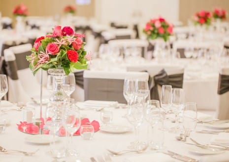 Rydges South Bank - Rooftop - Weddings - table setting